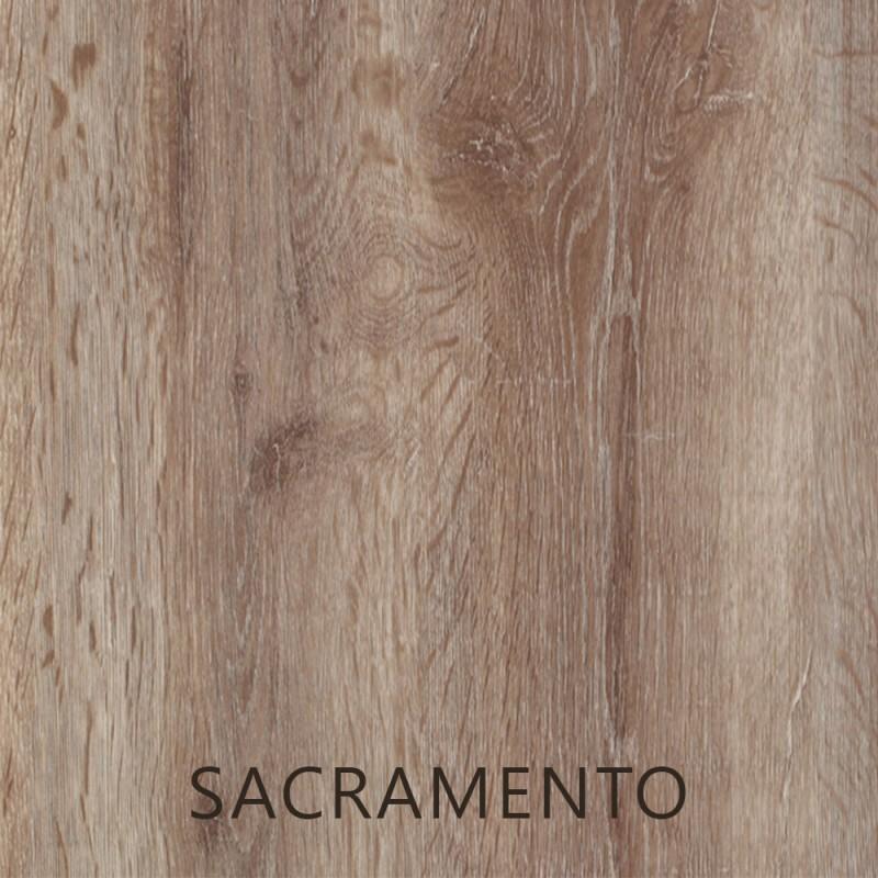 En : 24 cm - Boy : 80 cm Sacramento Suntalam kalınlık 30 mm raf